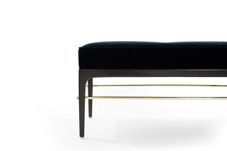 Brass Stamford Modern's Linear Bench For Sale