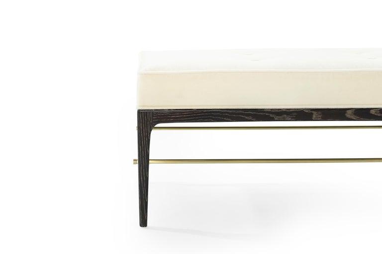 Stamford Modern's Linear Bench in Limed Oak For Sale 3
