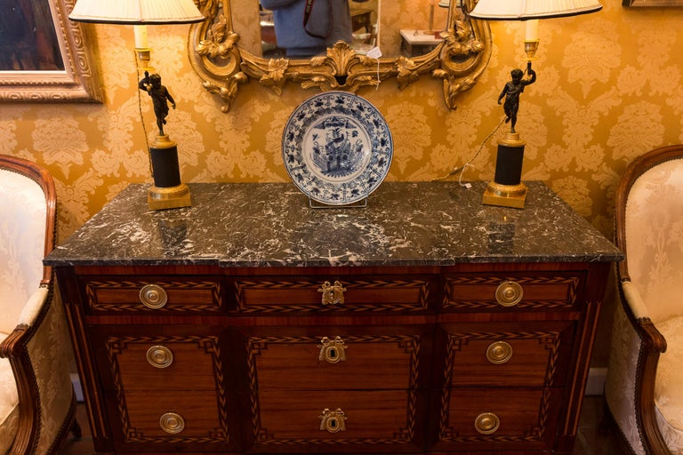 Stamped by Jean Caumont French Louis XVI Period Commode, circa 1775-1780 For Sale 4