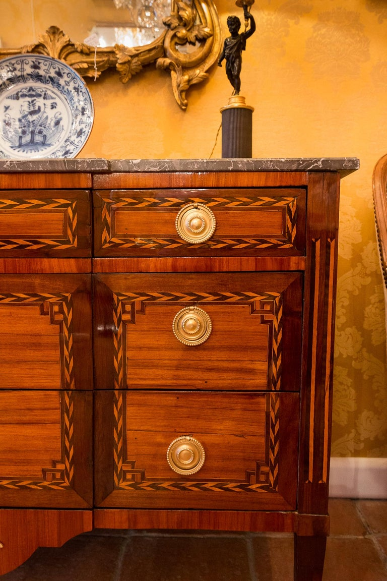 Stamped by Jean Caumont French Louis XVI Period Commode, circa 1775-1780 For Sale 6