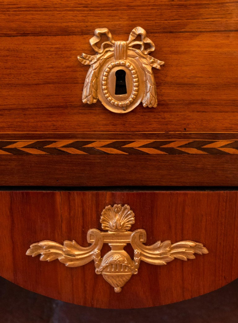 Stamped by Jean Caumont French Louis XVI Period Commode, circa 1775-1780 For Sale 7