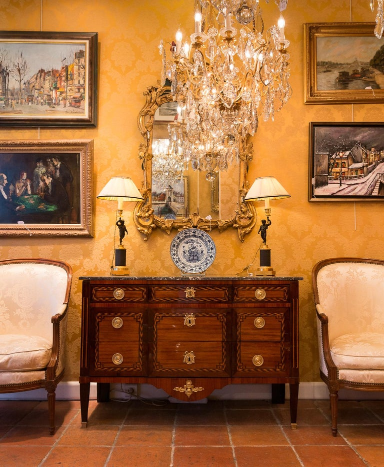 Stamped by Jean Caumont French Louis XVI Period Commode, circa 1775-1780 For Sale 2