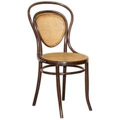 Stamped circa 1890 J&J Jacob & Josef Kohn Bentwood Berger Armchair Part Suite