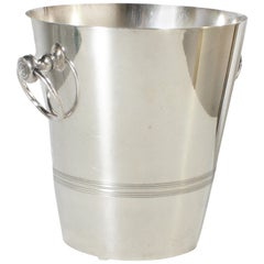 Stamped Silver Plated Ice Bucket, circa 1960