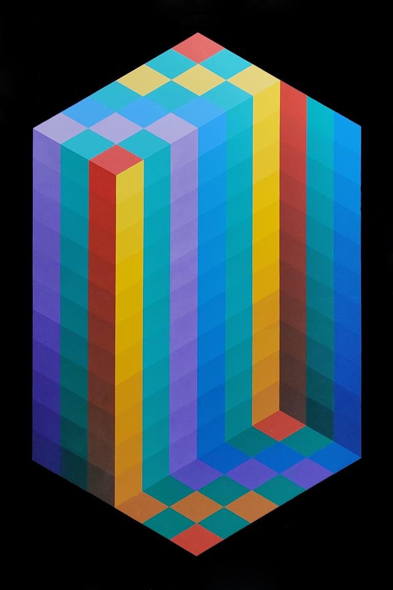 Stan Slutsky Abstract Painting - FAITH