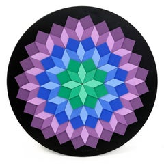KELEIDOSCOPE (DIMENSIONAL PIECES OF WOOD WITH MAGNETS)