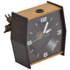 Stancraft High Time Ceiling Light Projection Alarm Clock St Paul, MN, 1960s