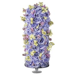 Stand Cylinder Roses Set Arrangement, Flowers, Italy