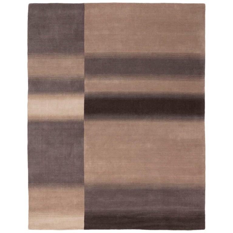 Standard Check Rug by CC-Tapis For Sale