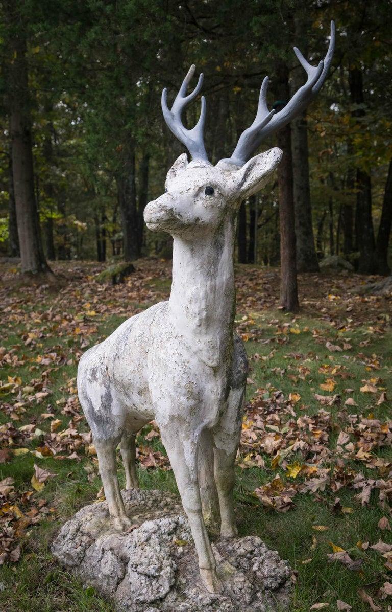 Standing Cement Deer For Sale 5