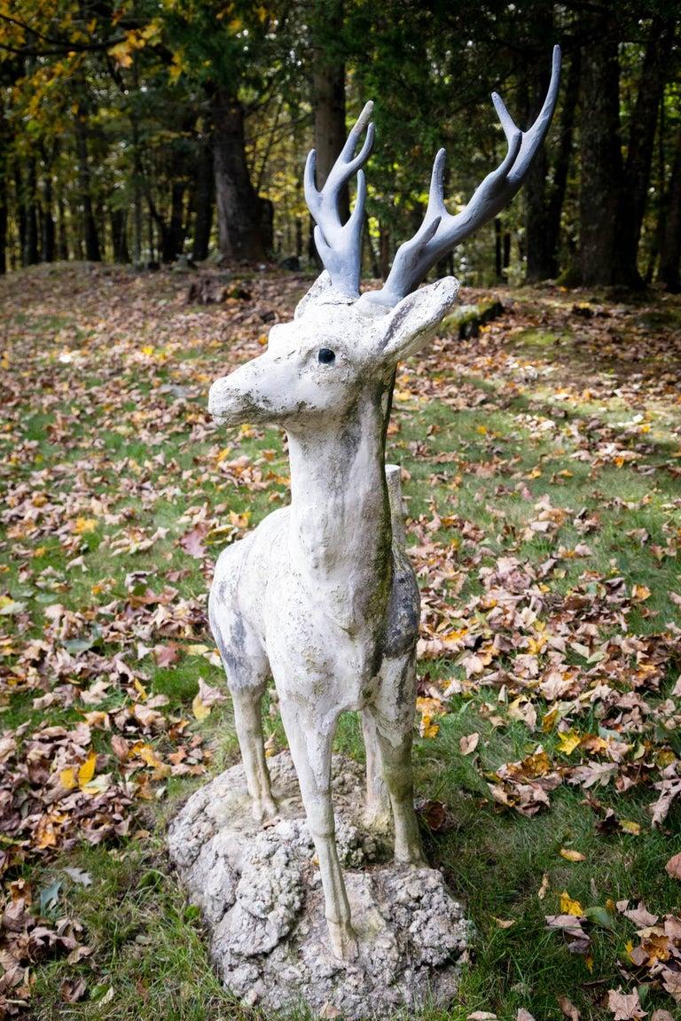 Standing Cement Deer For Sale 3