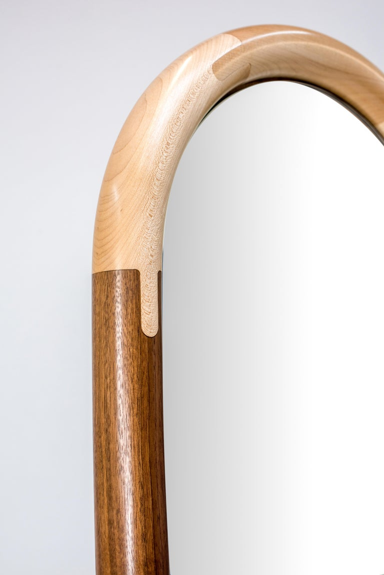 Standing Halo Mirror by Birnam Wood Studio For Sale 2