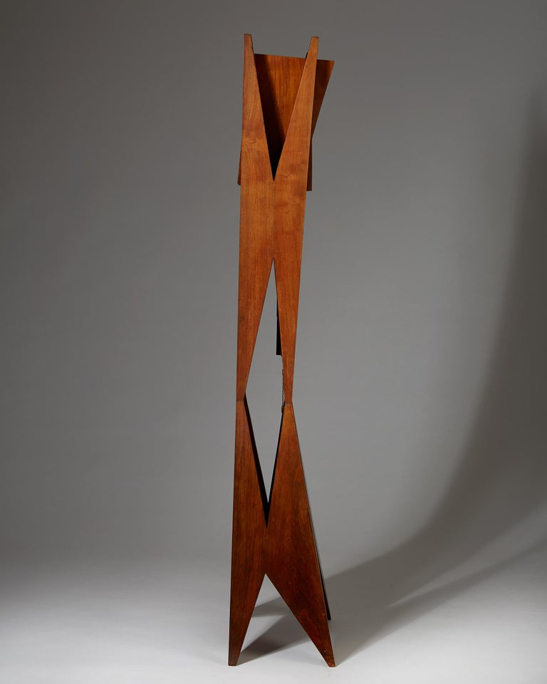 Standing Long-Case Clock, Anonymous, Denmark, 1950s For Sale 1
