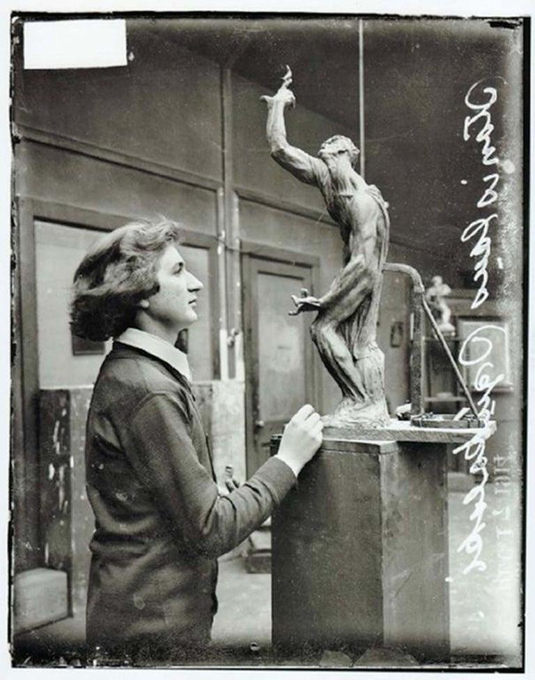 Imploration - Modern Sculpture by Stanislaw Szukalski