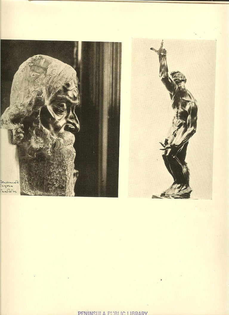 """Presenting a just released estate cast bronze by Stanislav Szukalski, """"Imploration.""""  """"Imploration"""", was originally cast in 1914; this sculpture has been estate cast in a numbered edition of nine bronzes, this bronze is #4/9, lost wax cast from an"""