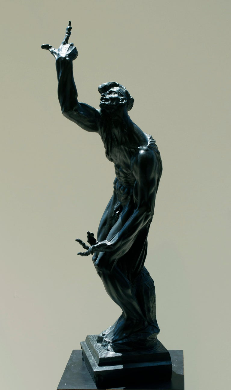Stanislaw Szukalski Figurative Sculpture - Imploration