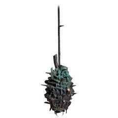 Stanislaw Trzebinski, Maritima Cordatus, Bronze Sculpture Light