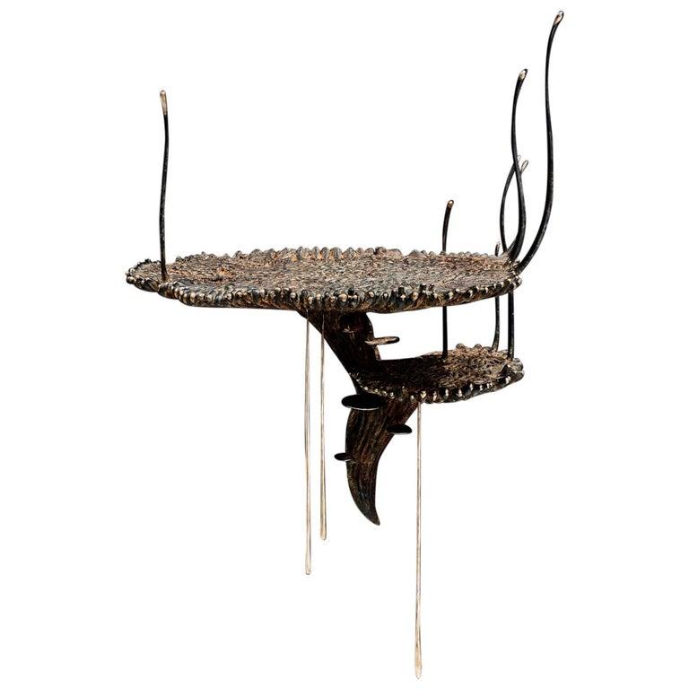 """Stanislaw Trzebinski, """"Polydolichodactyl Muralis"""", Bronze Table For Sale"""