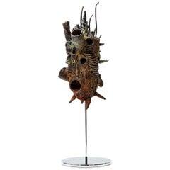 "Stanislaw Trzebinski, ""Pulchellus Pelagicus (Rufous)"", Bronze Sculpture"
