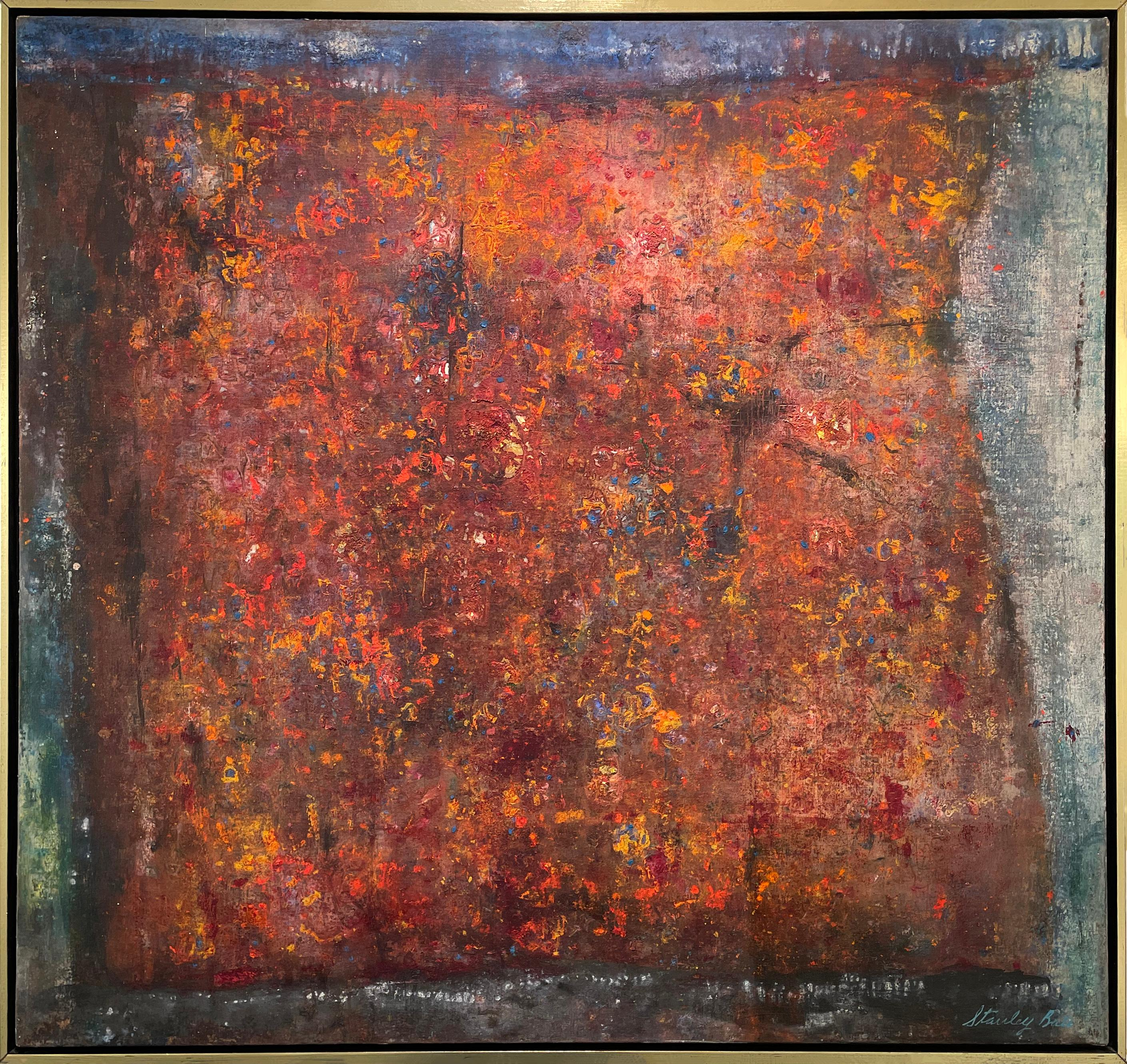 """""""Buried Treasure,"""" 1960s Modern Abstract Painting"""