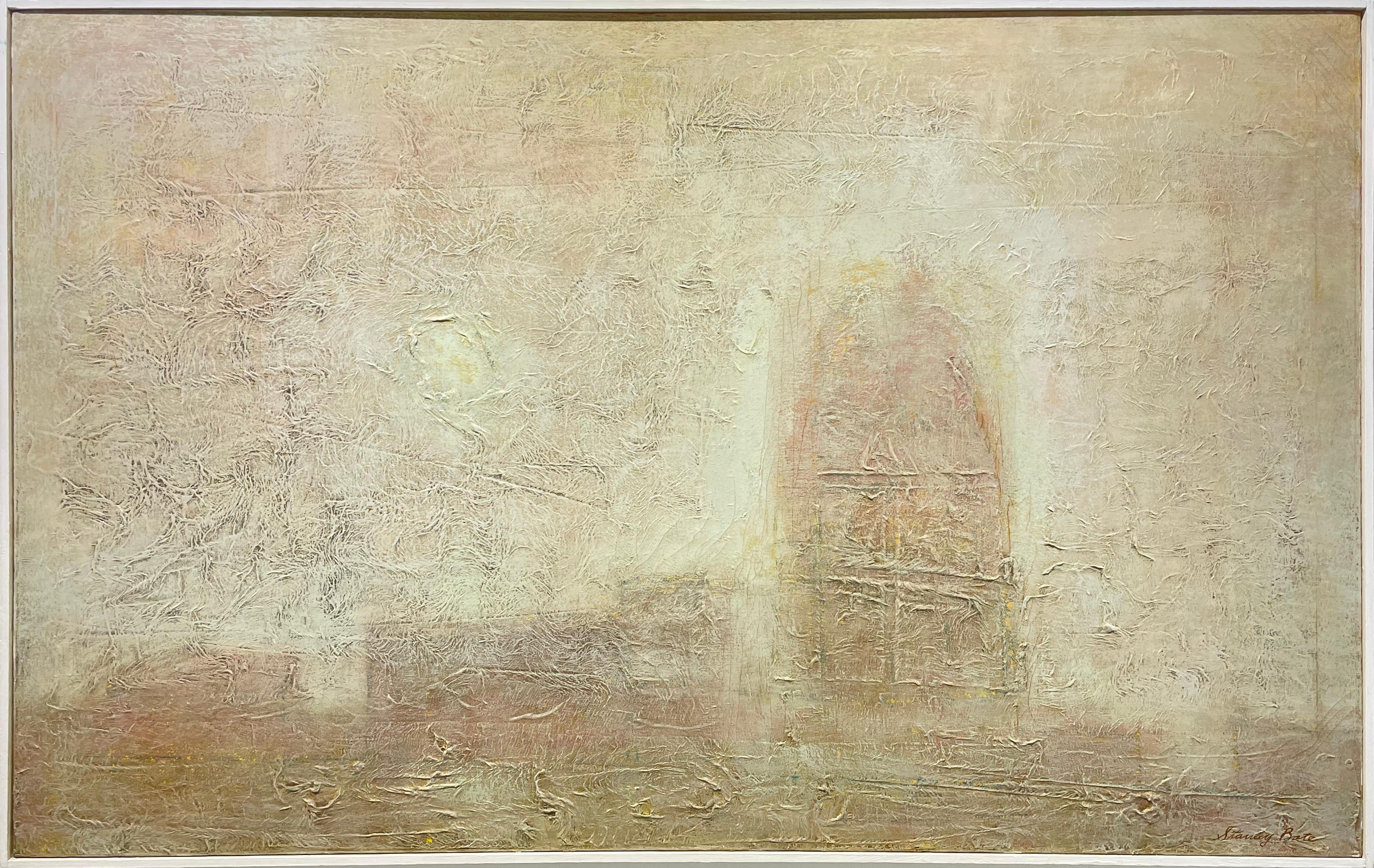 """""""Cathedral,"""" 1960s Modern Abstract Painting"""