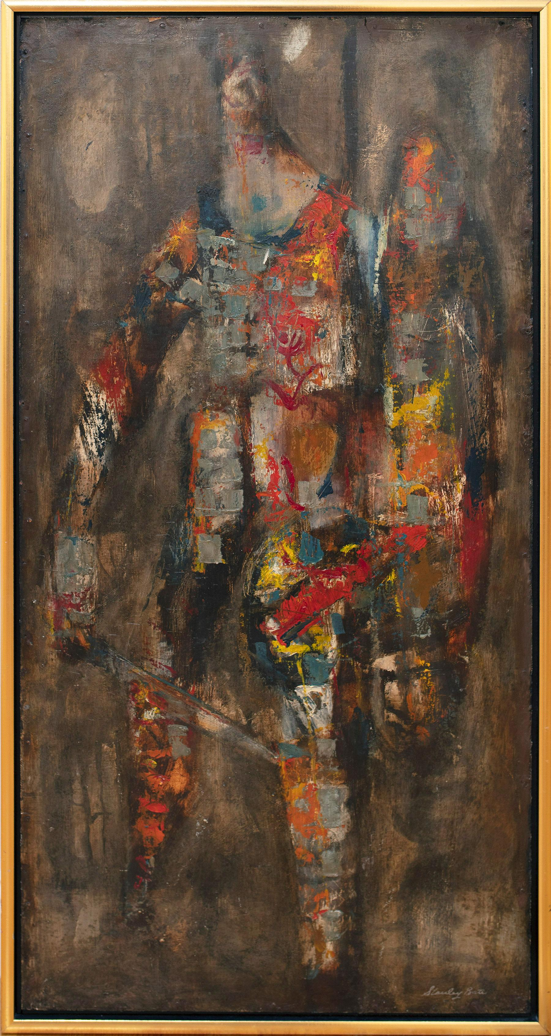 """""""Centurion,"""" 1960s Modern Abstract Painting"""