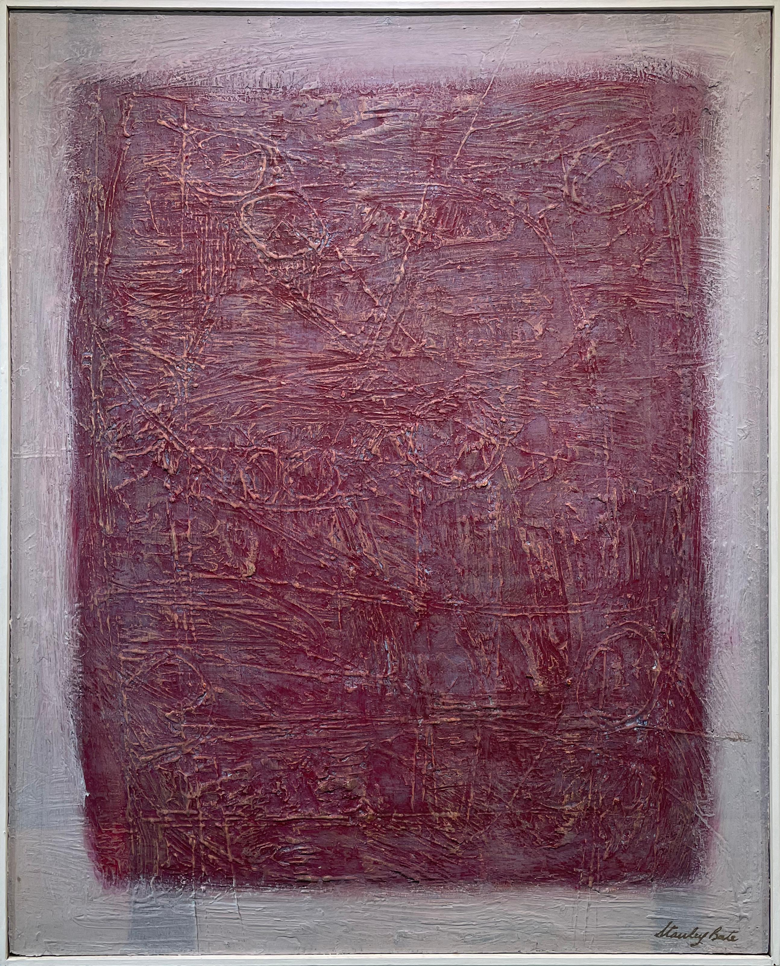 """""""Eden,"""" 1960s Modern Abstract Painting"""