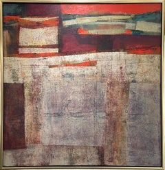 """""""Georgia on My Mind,"""" 1960s Modern Abstract Painting"""