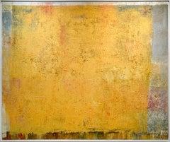 """Golden Fleece,"" 1960s Modern Abstract Painting"