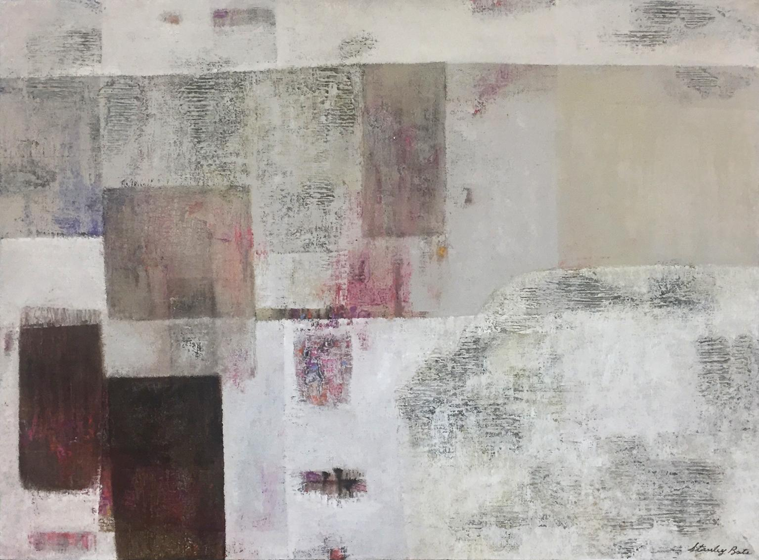 """""""Great Wall,"""" 1970s Modern Abstract Painting"""