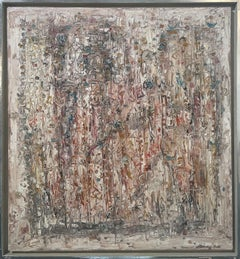 """""""Paphos,"""" 1960s Modern Abstract Painting"""
