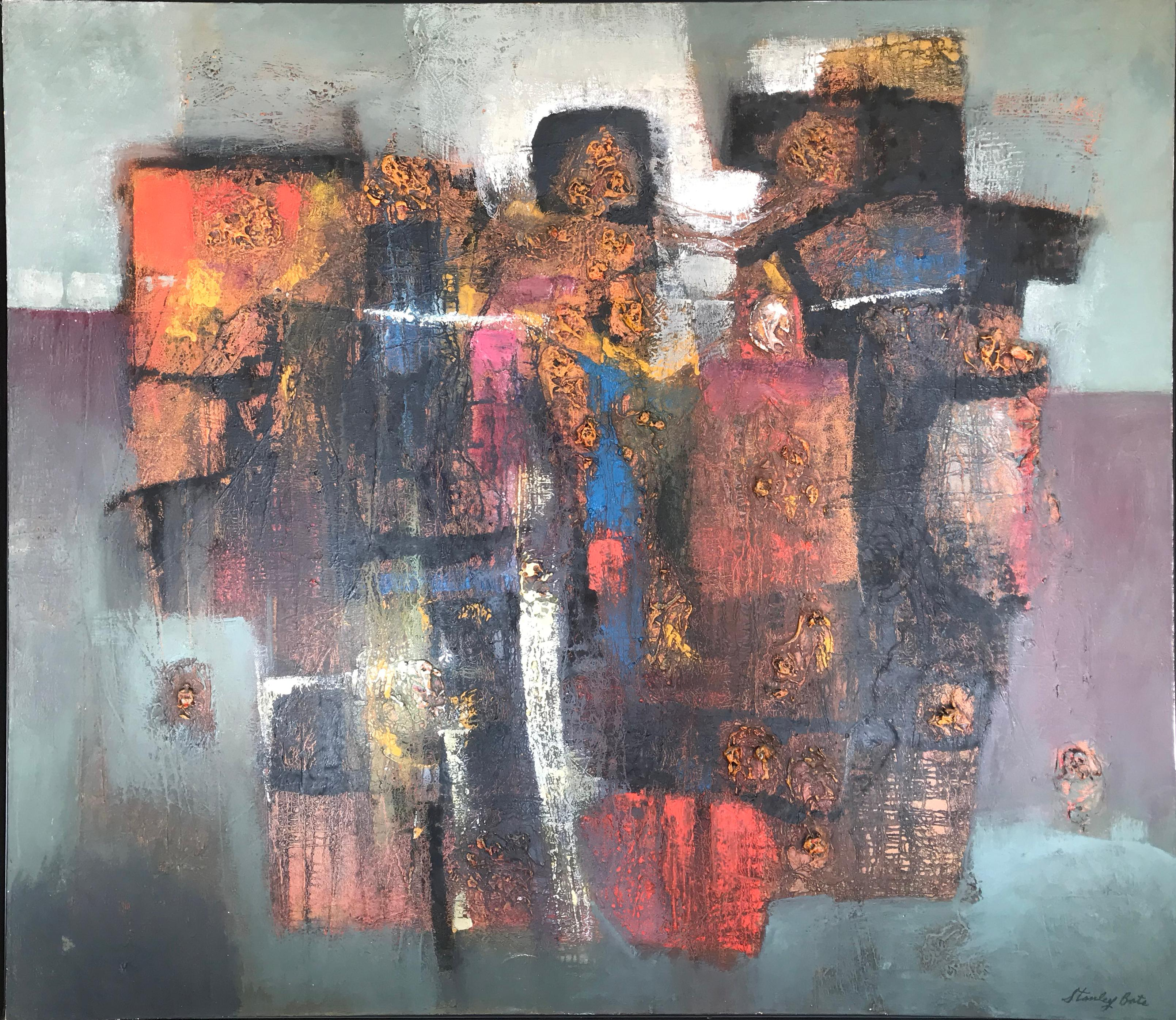 """""""Rites of Spring,"""" 1970s Modern Abstract Painting"""