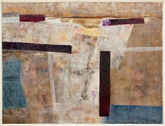 """""""South Bay,"""" 1970s Modern Abstract Oil Painting"""