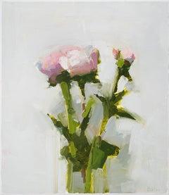 """Stanley Bielen """"Behold"""" -- Framed Still Life Oil Painting"""