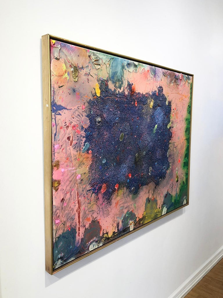 Alcamorispettounquarried - Abstract Painting by Stanley Boxer