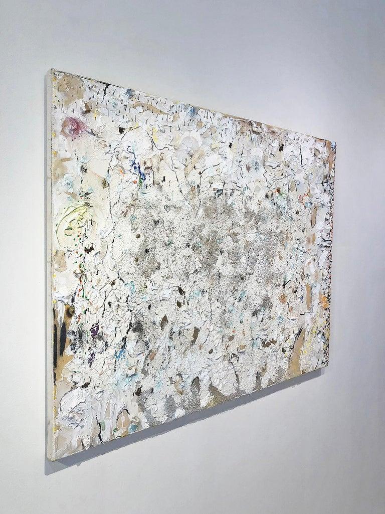 Palebloodscharmedpool - Abstract Painting by Stanley Boxer