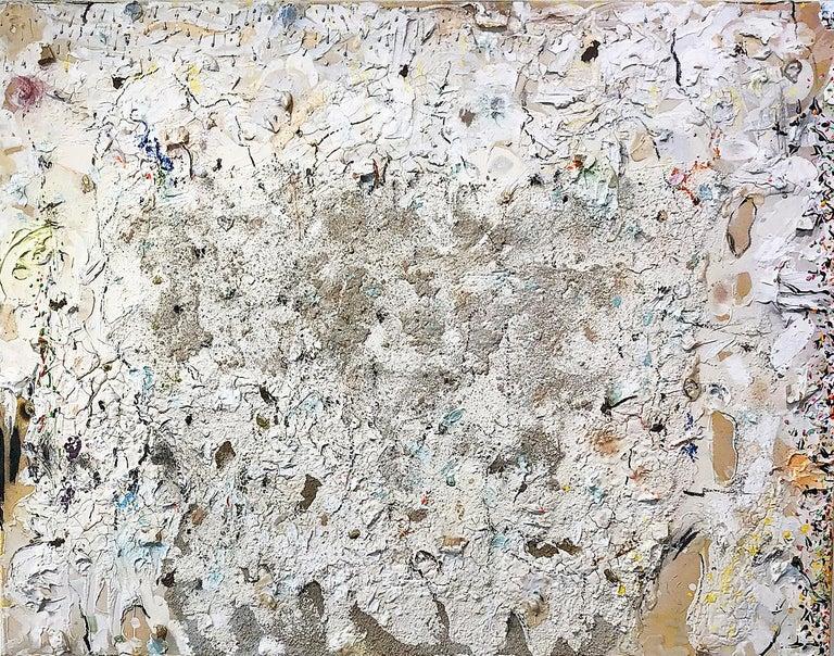 Stanley Boxer Abstract Painting - Palebloodscharmedpool