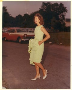 Press Photo of Jacqueline Kennedy - by Stanley Einzig - 1960s