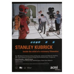 Stanley Kubrick, Inside the Mind of a Visionary Filmaker 2015 Australian A2