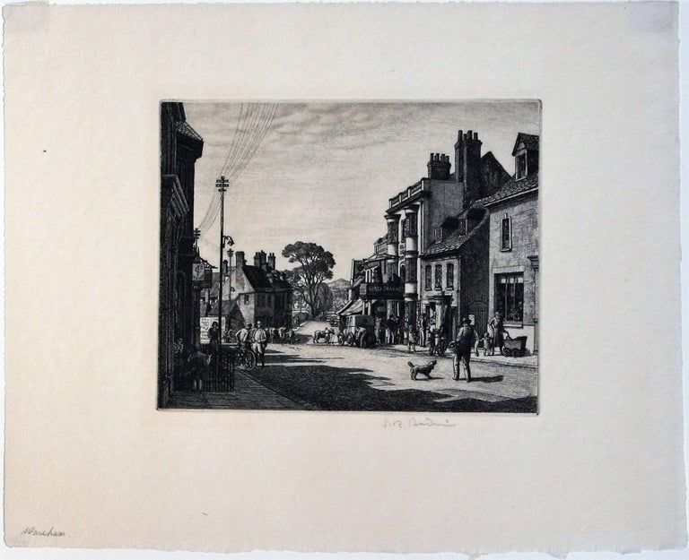 Wareham, Dorset - Print by Stanley Roy Badmin, R.W.S, R.E., A.I.A., F.S.I.A.