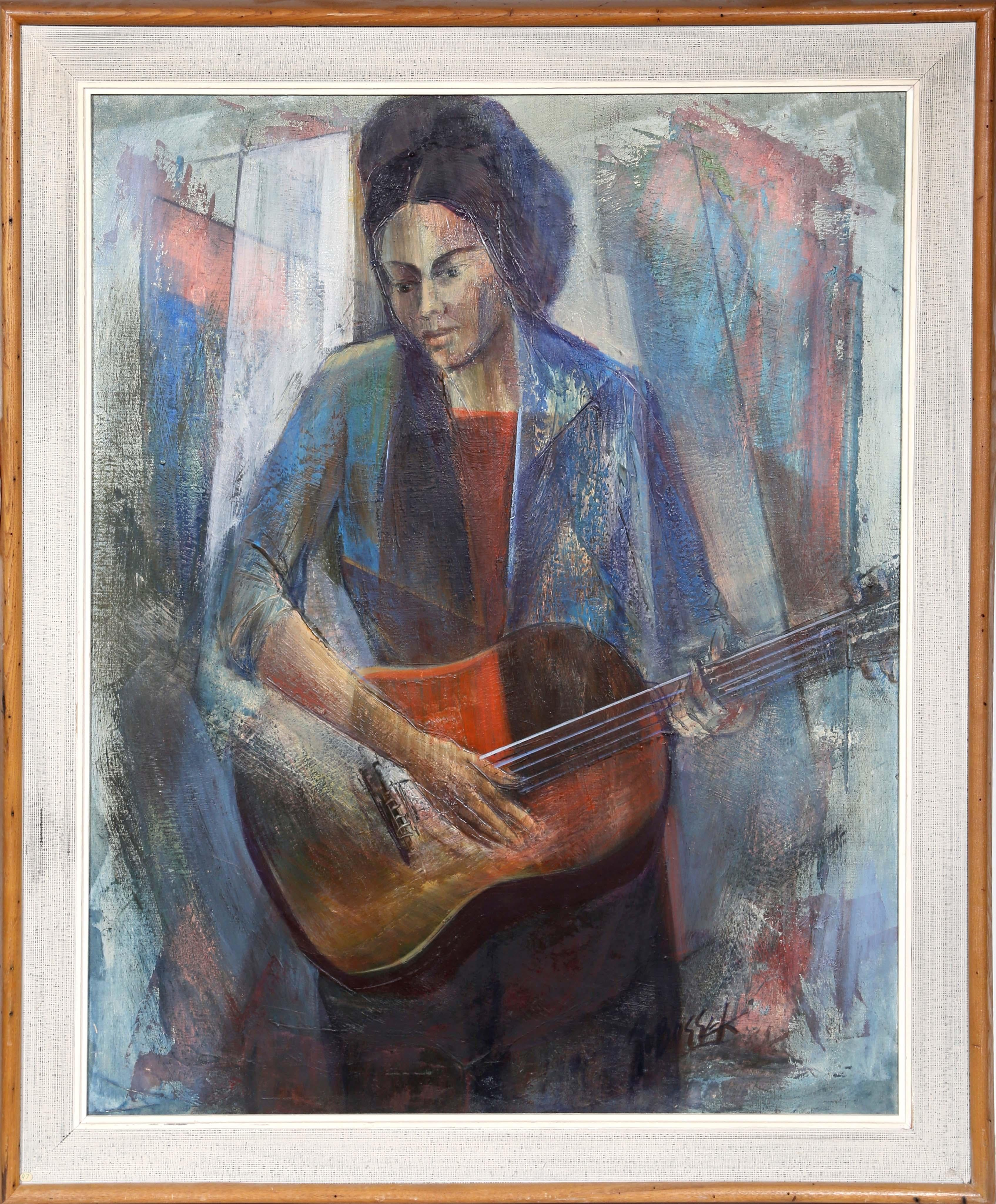 Ballad of the Blues, Oil Painting by Stanley Sobossek