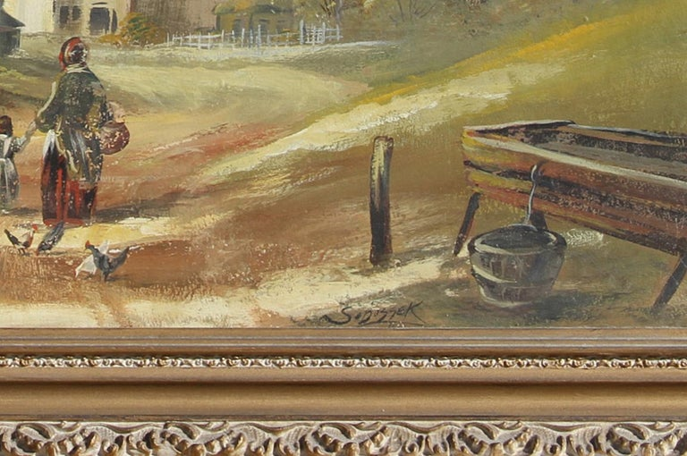 Country Landscape, Oil Painting by Stanley Sobossek For Sale 2