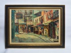 View of Chinatown New York City by Stanley Sobossek