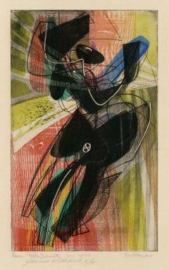 Danse du Soleil (Sun Dance; Sun Dancer) —mid 20th Century Modernism