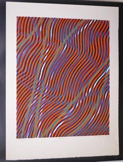 Scorpio - Original Lithograph by S.W. Hayter - 1968