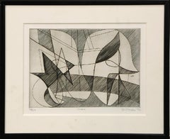 Stanley William Hayter 'Cirave' Signed Limited Edition Abstract Print Etching