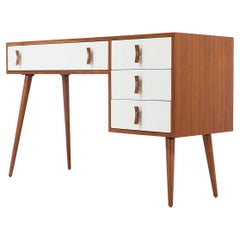 Stanley Young Lacquered and Walnut Writing Desk for Glenn of California
