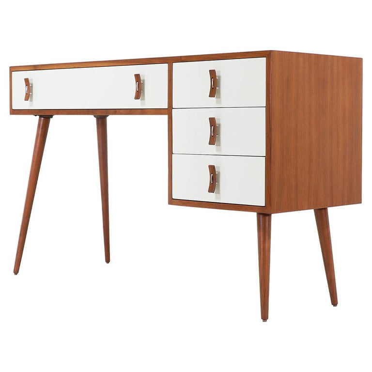 Stanley Young Lacquered and Walnut Writing Desk for Glenn of California For Sale