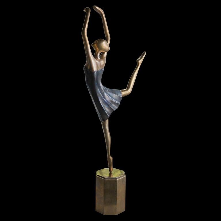 Contemporary Star Dancer Sculpture For Sale