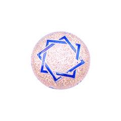 Star Enamel Pin Circa 1850
